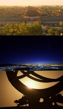 4K北京城市风景名胜延时拍摄