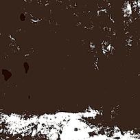 大面积黑色晕染贴图