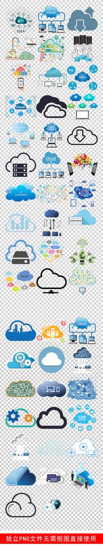 大数据云服务时代云计算素材