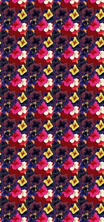 花瓣平铺背景设计图
