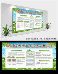 绿色环保宣传栏