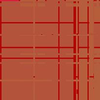 暖色格子拼接印染图案
