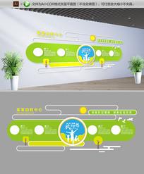 清新幼儿园校园文化墙