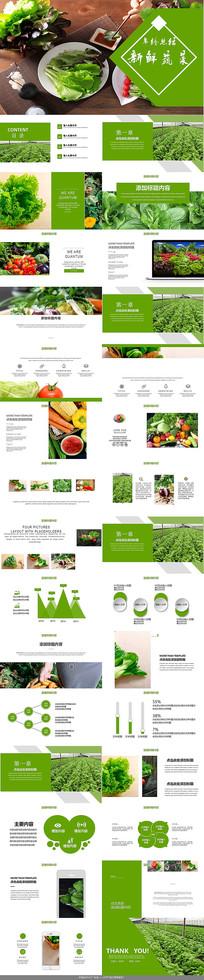 无公害农产品有机蔬菜PPT