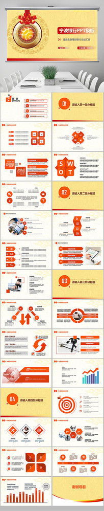 宁波银行金融理财投资PPT