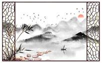 江山多娇背景墙