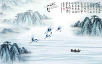 江山如此多娇背景墙