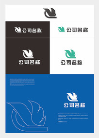 简洁大气logo设计