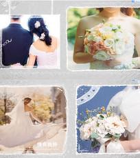 温情爱情婚礼相册AE模板