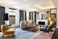 现代北欧风格的温馨客厅