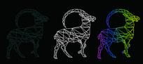 羊 轮廓线 CDR