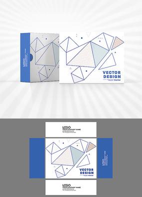 几何图形包装盒设计