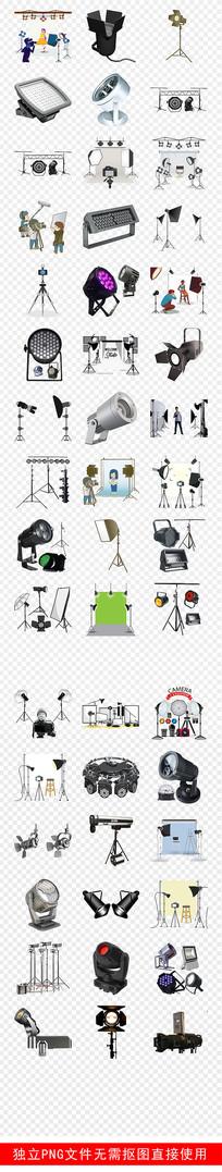 舞台表演摄影灯棚摄影器素材 PNG