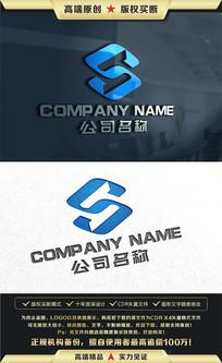 S字母金融科技商务LOGO