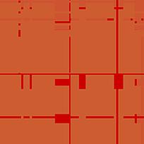 橙色格子线条拼接布纹 JPG