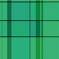 窗布拼接绿色格子图案
