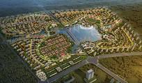大型住宅区鸟瞰图
