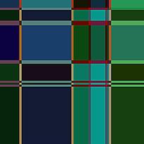 格子拼接纺织图案