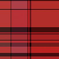 黑红条格底纹印花图案