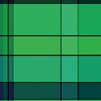 绿色方格布料印花底纹
