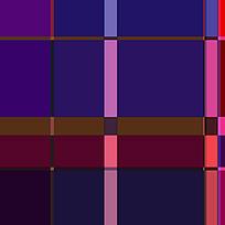 时尚紫色格子花纹印花