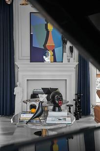 现代时尚风格的客厅