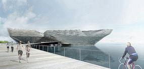 滨海艺术展馆建筑