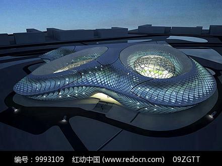 玻璃艺术展馆建筑图片