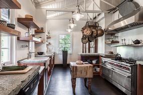 民族风元素简欧住宅厨房意向