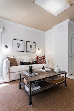 民族风元素简欧住宅小客厅