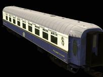 欧洲风格的老式火车车厢