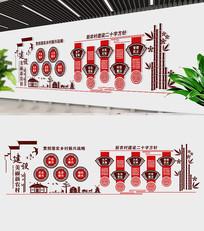建设美丽新农村文化墙