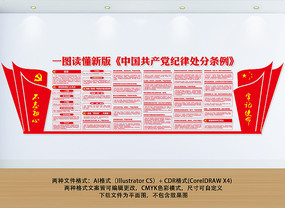 中国共产党纪律处分条例文化墙