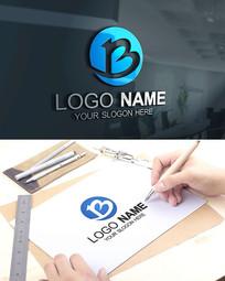 BF字母科技建筑能源LOGO