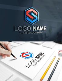 S字母建筑科技工程LOGO