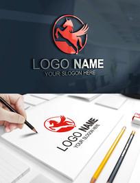 独角兽LOGO飞马标志