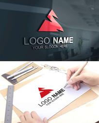 山LOGO旅游户外科技标志