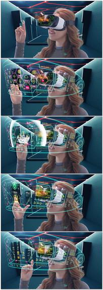 VR虚拟现实未来生活视频