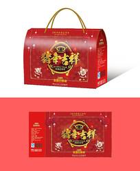 拜年礼盒包装设计