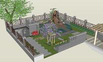 别墅后庭院设计