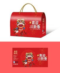 春节礼包包装设计