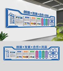 大气企业文化墙布置设计