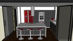 风情现代厨房