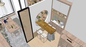 工作室场景模型