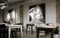 国外工业风餐厅墙面装饰画