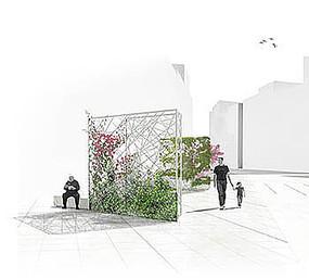 户外花艺景观墙 JPG