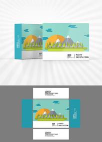 卡通风景包装设计