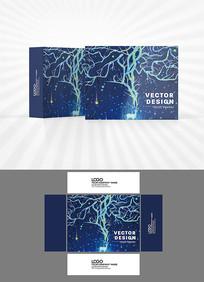梦幻背景包装盒设计