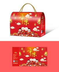 年货礼盒包装设计
