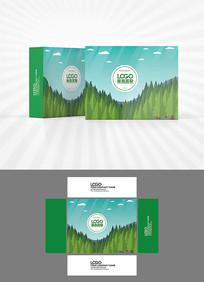 森鑫背景包装盒设计